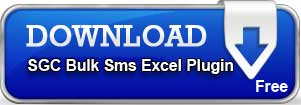 Download SGC Bulk Sms Excel Plugin