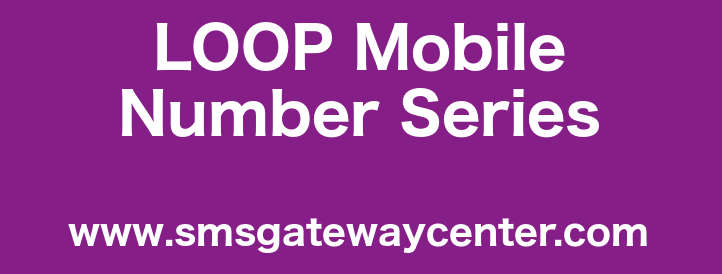 List of Loop Mobile Number Series in India – SMS Gateway Center Blog