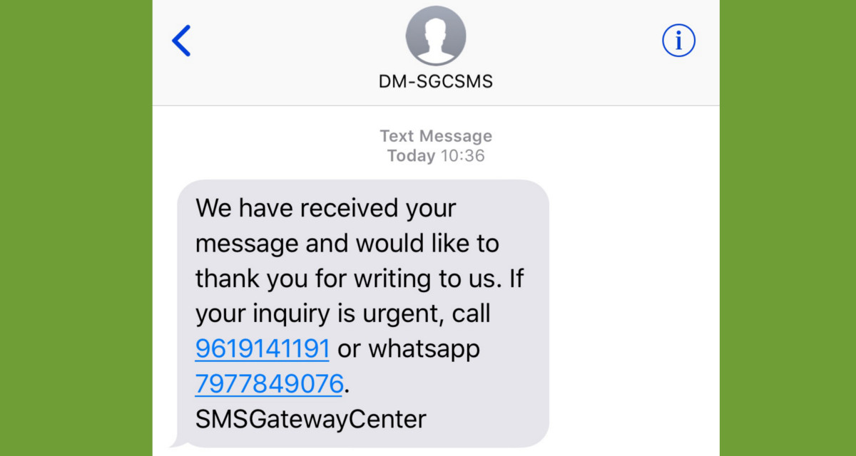 5 Thank You Sms Messages To Use On Your Web Forms Sms Gateway