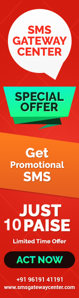 SMSGatewayCenter - Promotional SMS at 7 Paise