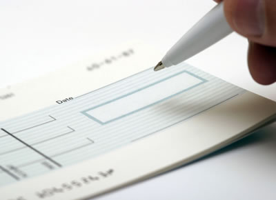SMS Gateway Payments Cheque